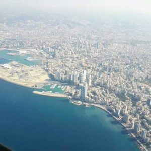 beirut by airplane