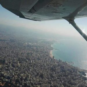 lebanon by airplane