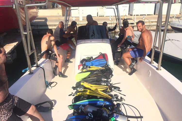 diving in lebanon