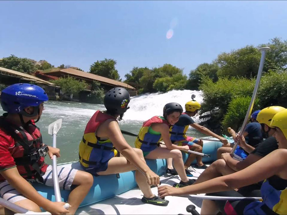 rafting in lebanon