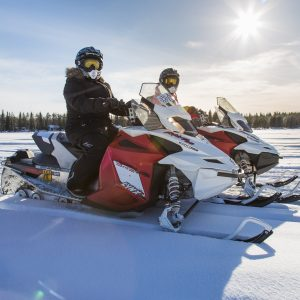 snowmobile tour in mzaar